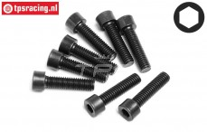 HPI94675 Pan-Head Screw M3,5-L14 mm, 8 pcs.