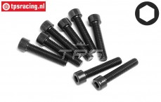 HPI94676 Pan-Head Screw M3,5-L18 mm, 8 pcs.