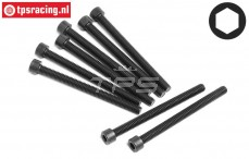 HPI94677 Pan-Head Screw M3,5-L42 mm, 8 pcs.