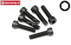 HPI94707 Pan-Head Screw M5-L20 mm, 6 pcs.