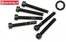 HPI94711 Pan-Head Screw M5-L35 mm, 6 pcs.