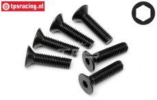 HPI94732 Countersunk Head Screw M5-L20 mm, 6 pcs