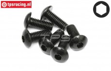 HPI94754 Button Head screw M5-L12 mm, 6 pcs.