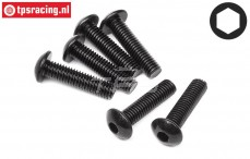 HPI94757 Button Head screw M5-L20 mm, 6 St.
