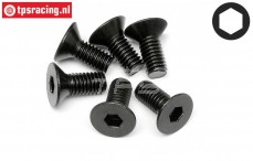 HPI94879 Countersunk Head Screw M6-L14 mm, 6 pcs