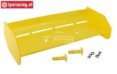 TPS85451/40 Nylon rear Wing Yellow HPI-Rovan, Set
