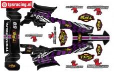 TPSBAJA-P Decals HPI-Rovan Baja Purple, Set