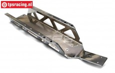 TPS7477/CH Extra strong Chassis HPI-Rovan, Chrome, 1 pc
