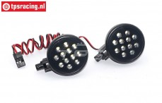 TPS5190/2W LED lights bright white, 2 pcs