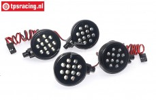TPS5190/4W LED lights bright white, 4 pcs