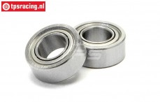 HPIB021 Ball Bearing Ø5-Ø10-H4 mm, 2 pcs.
