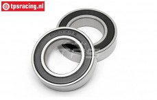 HPIB092 Ball Bearing, (Ø17-Ø30-H7 mm), 2 pcs.