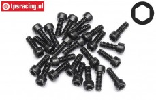 HPIZ340 Pan-Head screw M3-L16 mm, 25 pcs.