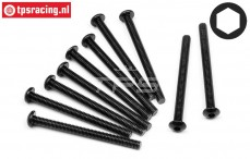 HPIZ362 Button-Head Screw M3-L35 mm, 10 pcs.