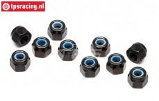 TPSZ663 Steel Lock nut M3, 10 pcs.