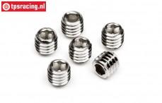 HPIZ700 Headless pin, (M3-L3 mm), 6 pcs