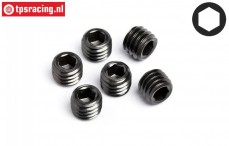 HPIZ740 Scrub screw M5-L4 mm, 6 pcs