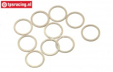 HPIZ877 Shim Ring Ø8-Ø10-H0,2 mm, 10 pcs