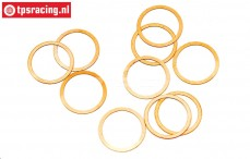 HPIZ891 Shim ring Ø10-Ø12-H0,1 mm, 10 pcs