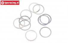 HPIZ892 Shim Ring Ø10-Ø12-H0,2 mm, 10 pcs