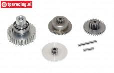 Gears complete, JX-PDI-HV5921MG servo, Set