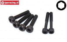 JX253246 Upper closure screws JX BLS Serie, 6 pcs.