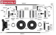 FG6250/03 Disk brake front, Monster/Stadium, Set