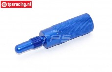 TPS0354/07 Alloy piston stopper Bleu, 1 pc.