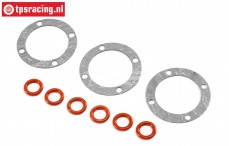 LOS242036 Differential Gasket-O-ring LMT Truck, Set