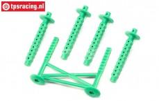 LOS241045 Rear body support LMT Green, Set