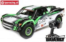 LOS05013T1 1/6 Super Baja Rey 4WD Desert Truck Brushless RTR, Black
