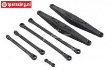 LOS234003 Rear Suspension arm SBR-SRR, Set