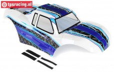LOS250014 Body MTXL, Bleu/white, Set