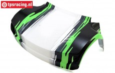 LOS250026 Body front Black Super Baja Rey, 1 pc.