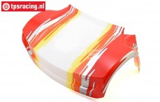 LOS250028 Body front Super Baja Rey Red, 1 pc.