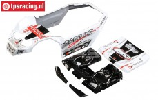 LOS250037 Body LOSI Super Rock Rey Raceline, set