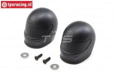 LOS250042 Driver helmet Super Rock Rey, 2 pcs.