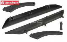 LOS251010 Chassis Side guards DBXL, Set