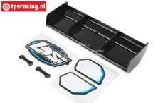 LOS251046 LOSI Wing Black DBXL-E , 1 pc.