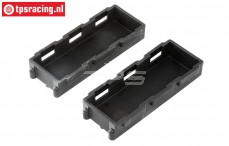 LOS251046 Battery tray DBXL-E , 2 pcs.