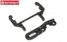 LOS251075 Gear plate/Servo Brace 5IVE-T 2.0, Set