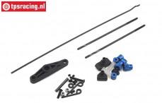 LOS251076 Throttle-Brake linkage 5IVE-T 2.0, Set