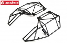 LOS251085 Roll cage side parts Super Rock Rey, Set