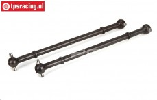 LOS252001 Rear Driving axle DBXL, 2 pcs.