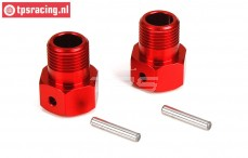 LOS252012 DBXL Wheel Carrier Red, 2 pcs.
