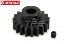 LOS252042 E-Motor Steel gear 19T-M1,5, 1 pc.