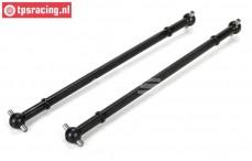 LOS252053 Dogbone front/rear MTXL, 2 pcs