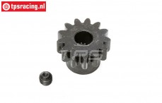 LOS252064 E-Motor Steel gear 13T-M1,5, 1 pc.
