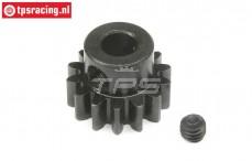 LOS252065 E-Motor Steel gear 14T-M1,5, 1 pc.