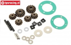 LOS252061 Differential gears, DBXL-E, Set